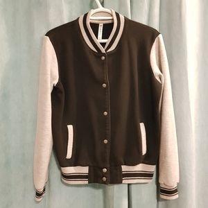 Varsity style Fabletics bomber jacket